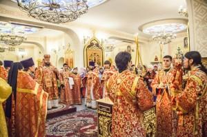 Божественная литургия. Волгодонск. 9.02.2014г.