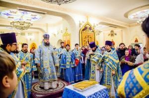 Божественная литургия. Волгодонск. 15.02.2014 г.