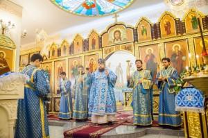 Всенощное бдение. Волгодонск. 15.02.2014 г.