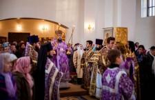 Божественная литургия. г. Белая Калитва.15.03.2014 г.