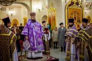 Божественная литургия. Волгодонск. 16.03.2014 г.