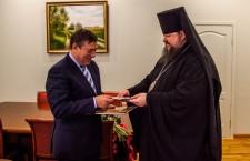 Состоялась встреча главы Волгодонской епархии Преосвященнейшего Корнилия с мэром г. Волгодонска Виктором Фирсовым