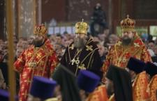 Пасхальная великая вечерня. Новочеркасск. 20.04.2014 г.