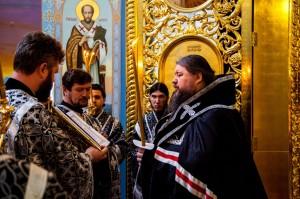 Вечернее богослужение. Волгодонск. 13.04.2014 г.