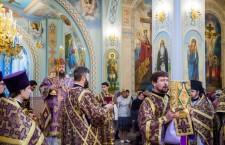 Великий Четверток. Божественная литургия. Волгодонск 17.04.2014 г.