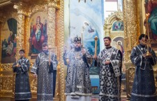 Утреня с чином погребения Господа нашего Иисуса Христа. Волгодонск. 18.04.2014г.