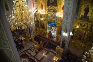 Пасхальное богослужение. Волгодонск. 20.04.2014 г.