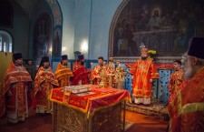 Божественная литургия. г. Белая Калитва. 22.04.2014 г.