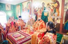 Божественная литургия. г. Семикаракорск. 25.04.2014 г.