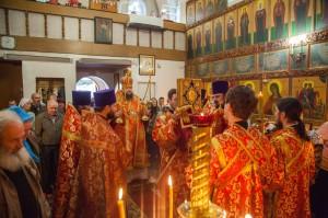 Божественная литургия. Волгодонск. 26.04.2014г.