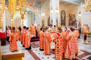 Всенощное бдение. Волгодонск.26.04.2014г.