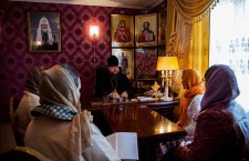 Глава Волгодонской епархии епископ Волгодонский и Сальский Корнилий возглавил совещание по разработке проекта помощи детям с особенностями развития