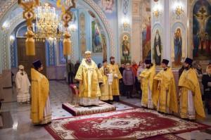 Божественная литургия. Волгодонск. 19.10.2014 г.