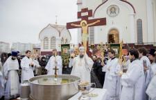 Богоявление. Божественная литургия. Волгодонск. 19.01.2015г.