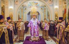 Вечернее богослужение с  чином общей исповеди. Волгодонск. 27.02.2015 г.