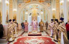 Божественная литургия. Волгодонск. 22.03.2015 г.