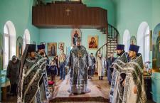 Литургию Преждеосвященных Даров. Волгодонск. 26.03.2015 г.