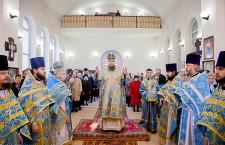 Божественная литургия св. Иоанна Златоуста г. Морозовск. 28.03.2015г.