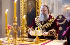 В день своего тезоименитства митрополит Меркурий совершил Божественную литургию в Ростовском кафедральном соборе