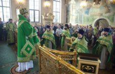Митрополит Меркурий возглавил торжества престольного праздника в храме преподобного Серафима Саровского в Софрино