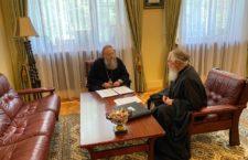 Председатель Синодального ОРОиК и глава Издательского Совета Русской Церкви обсудили совместные проекты