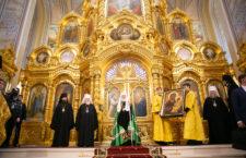Ростовский кафедральный собор Рождества Пресвятой Богородицы отметил годовщину со дня великого освящения после реставрации