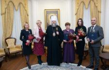 Митрополит Меркурий вручил церковные награды представителям власти и сферы образования за особое участие в организации юбилейных XXV Димитриевских чтений