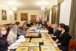 Митрополит Меркурий возглавил заключительное в этом году расширенное заседание художественного совета ХПП «Софрино»