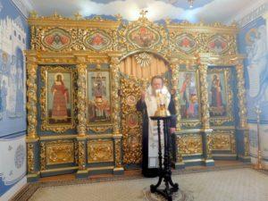 Митрополит Ростовский и Новочеркасский Меркурий совершил панихиду в Знаменской домовой церкви