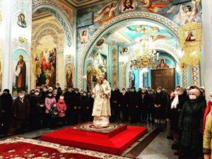 Глава Донской митрополии совершил Божественную литургию в Кафедральном соборе Рождества Христова г. Волгодонска