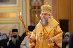 В Неделю 36-ю по Пятидесятнице Глава Донской митрополии совершил Божественную литургию в Ростовском кафедральном соборе