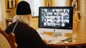 Выступление Святейшего Патриарха Кирилла на заседании Высшего Церковного Совета 11 февраля 2021 года