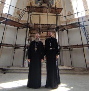 Глава Донской митрополии посетил Екатерининский храм в с. Екатериновка