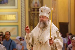 В канун Преображения Господня Глава Донской митрополии совершил всенощное бдение в Ростовском кафедральном соборе