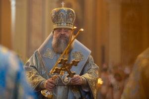 В праздник Успения Пресвятой Богородицы Глава Донской митрополии совершил Божественную литургию в Ростовском кафедральном соборе