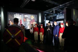 В Историческом парке «Россия – Моя история» состоялось открытие выставки в честь 800-летия князя Александра Невского