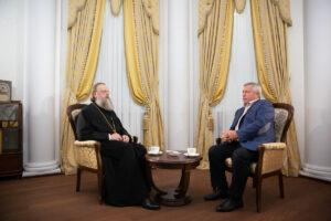 Состоялась встреча Главы Донской митрополии и Губернатора Ростовской области