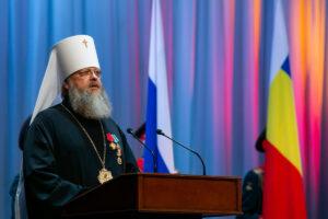 Глава Донской митрополии принял участие в торжественном мероприятии, посвященном 84-й годовщине со дня образования Ростовской области