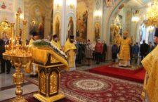 24 октября 2021 г. – Божественная литургия в соборе Рождества Христова